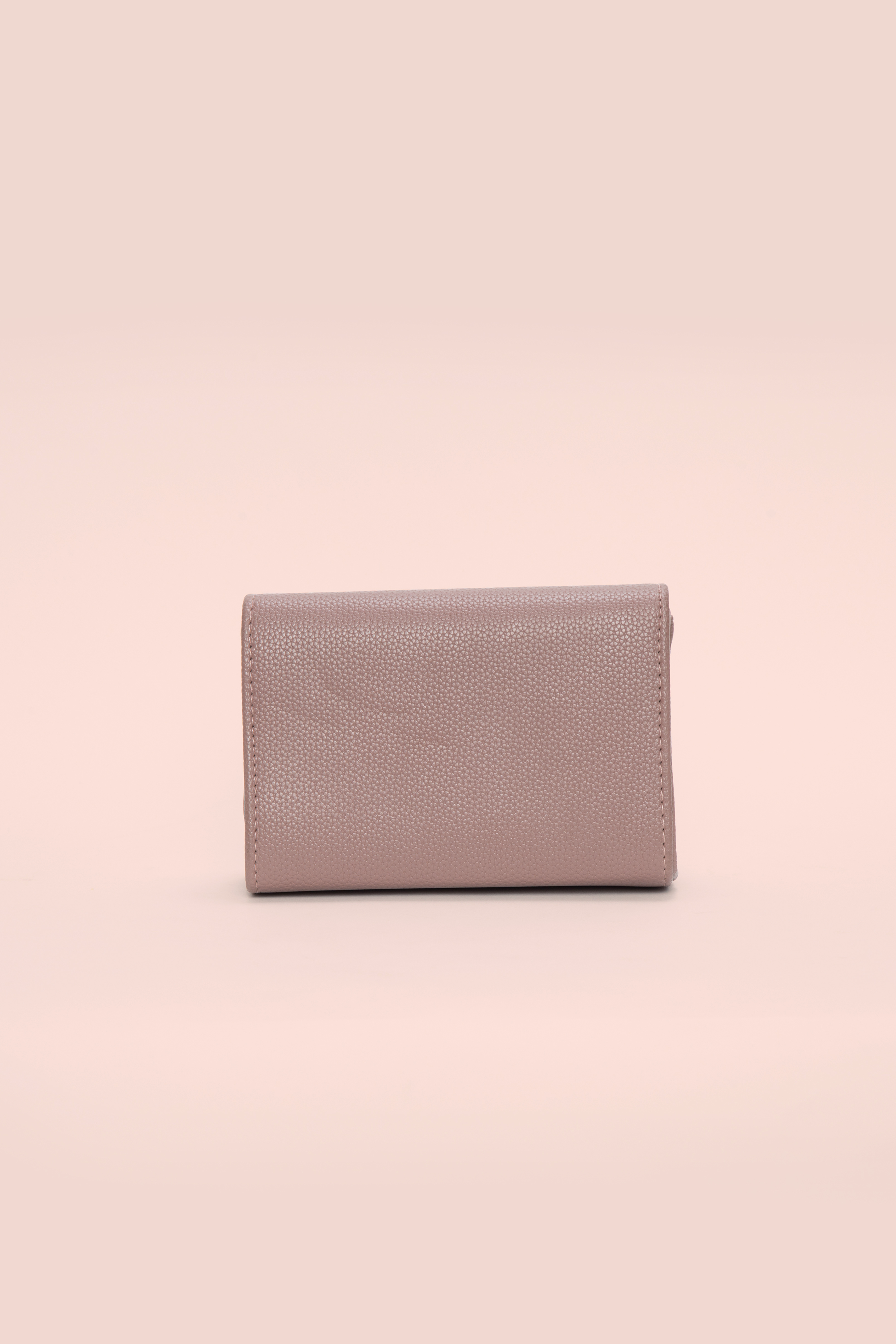 Folle Pink Bow Clutch