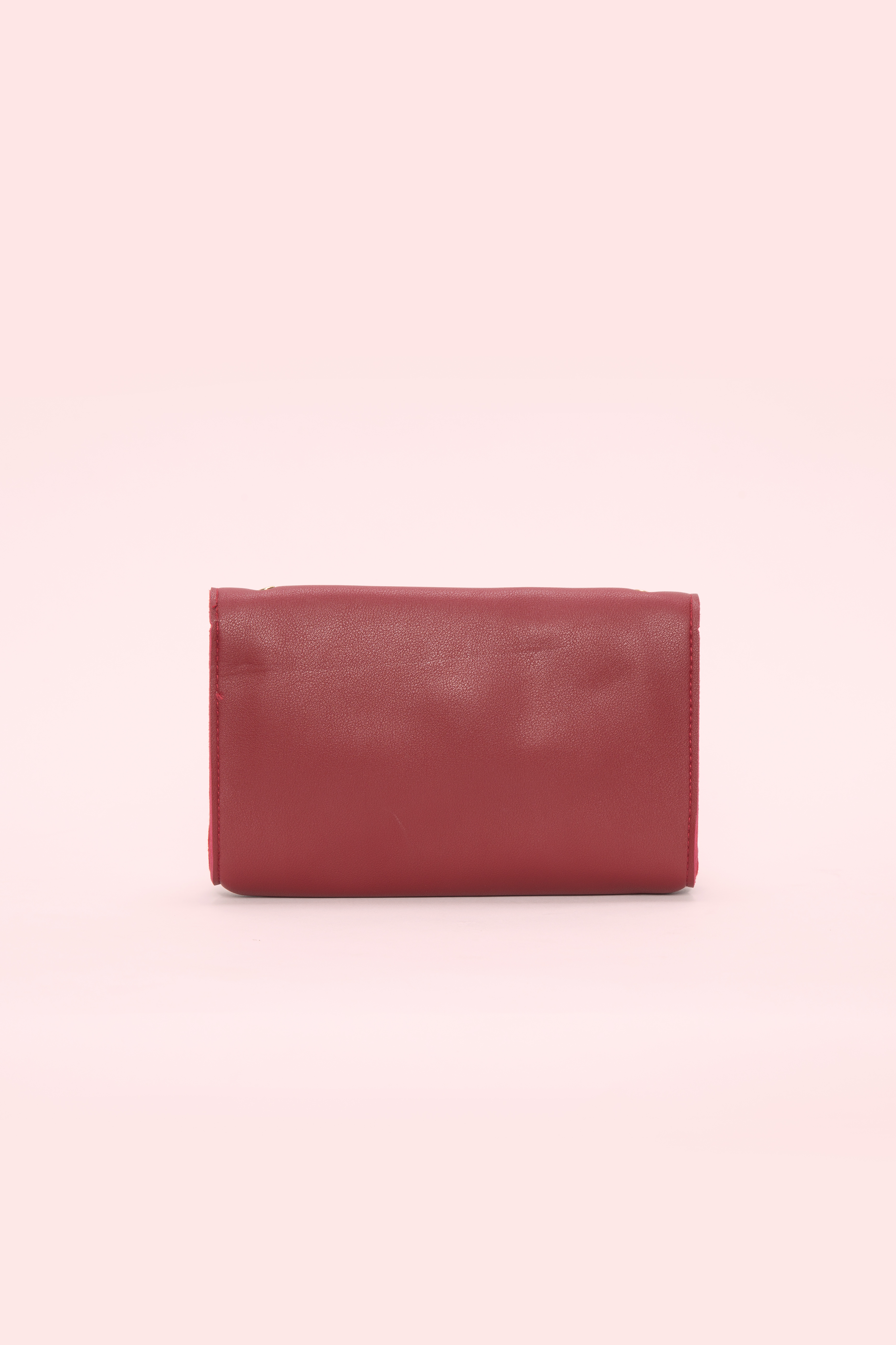Folle Red Clutch