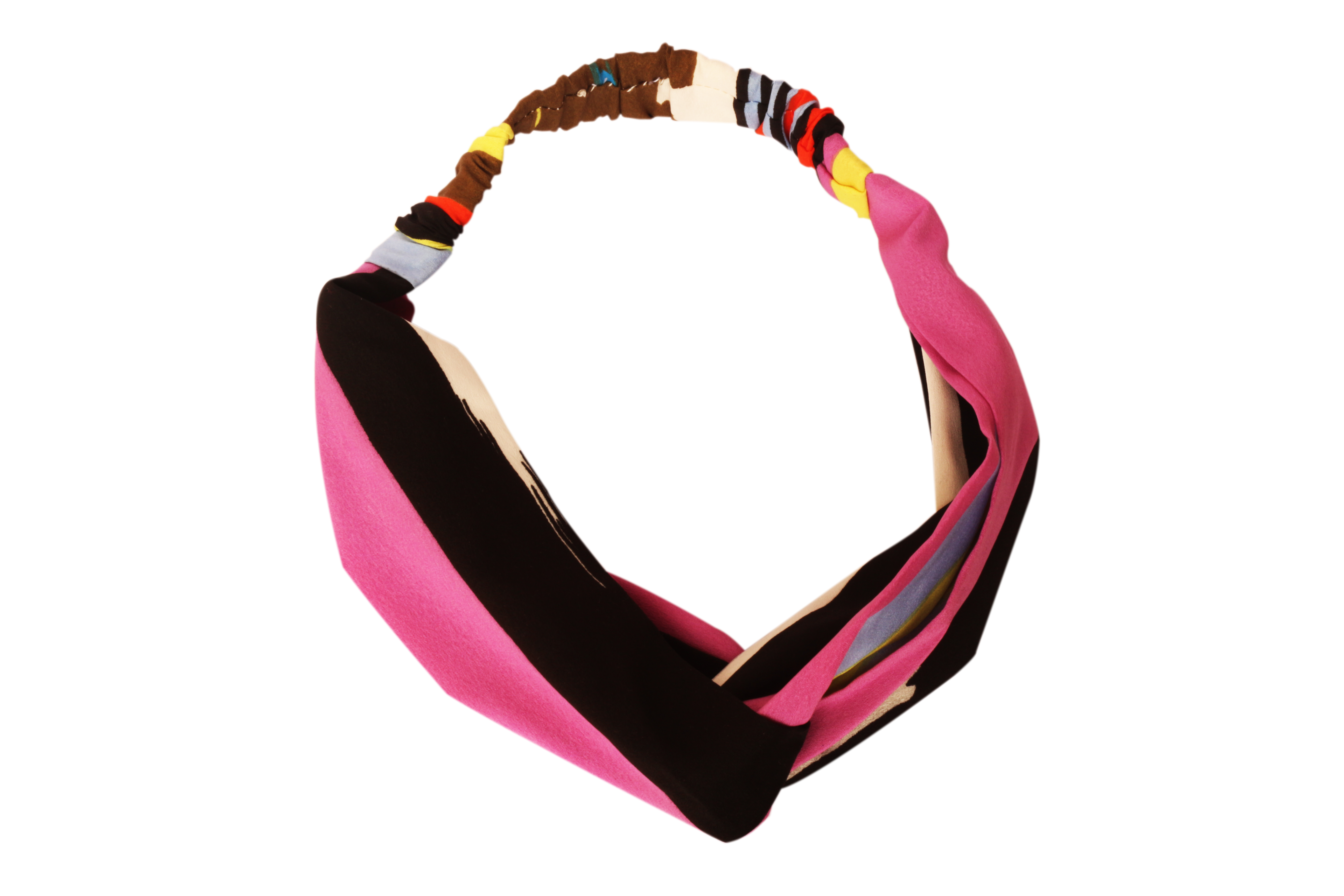 Folle Confusing Colors Stripy Gearup Hairband