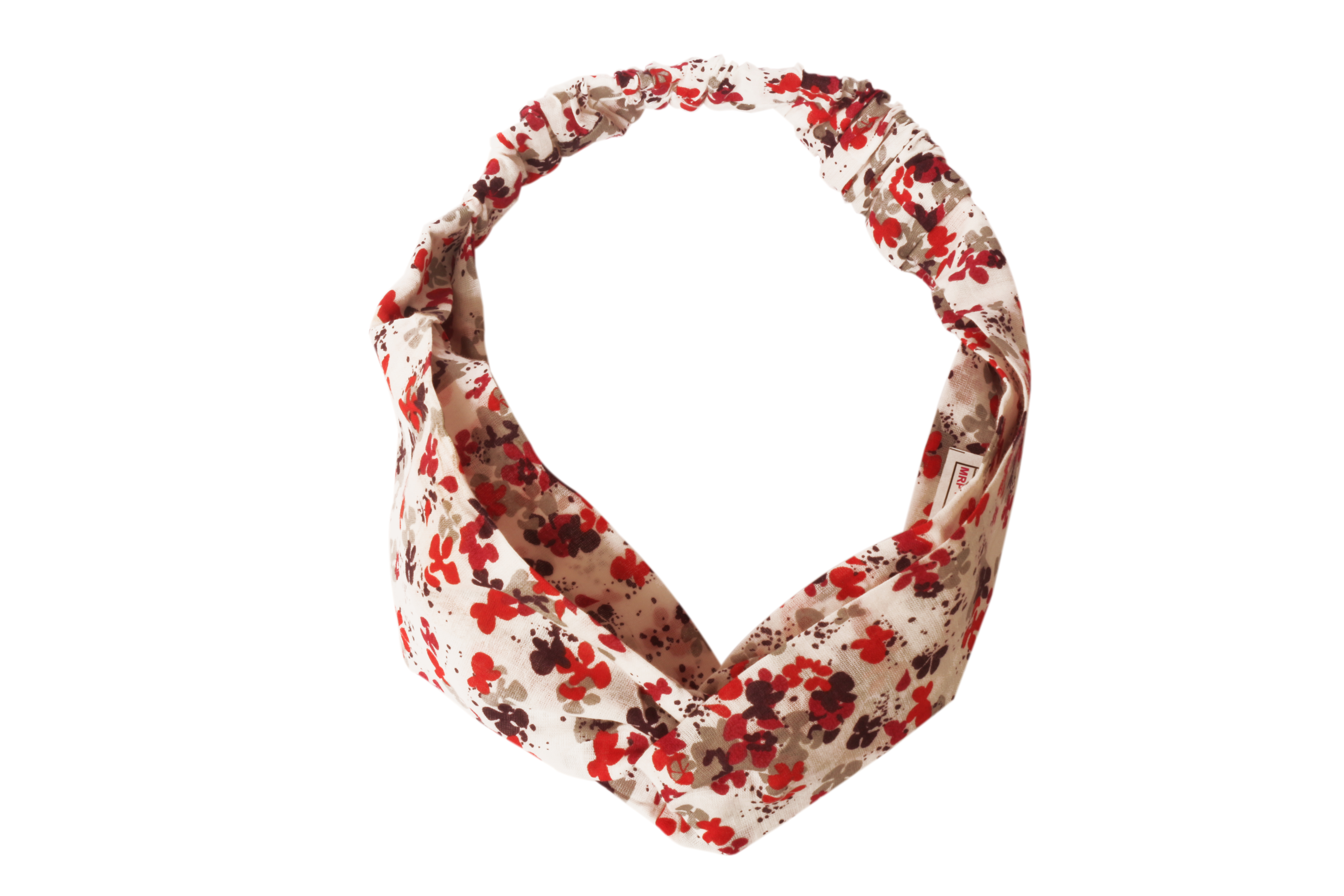 Folle Balanced Flowers Floral Printed Cotton Gearup Hairband