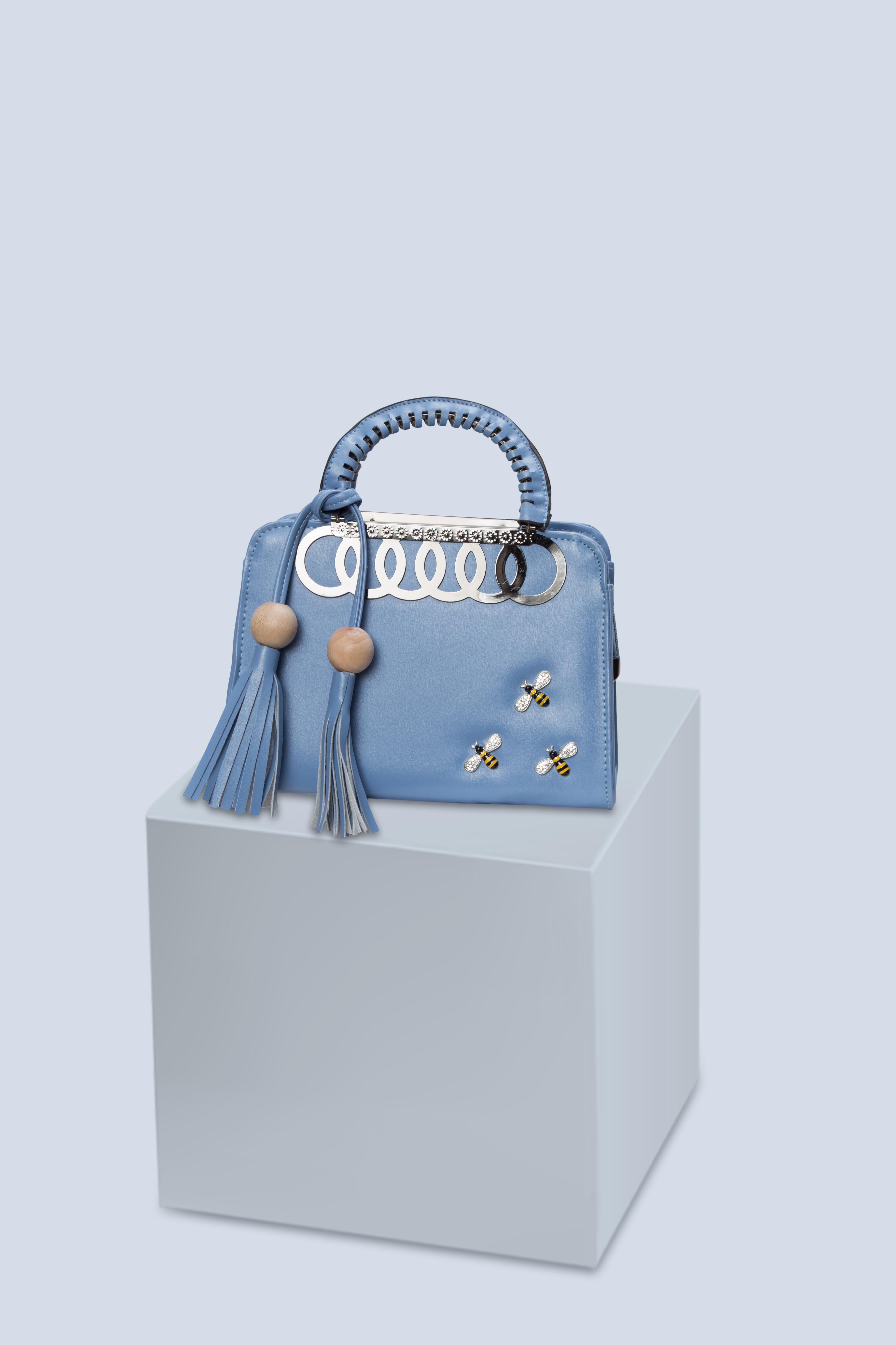 Folle Blue Honey Bee Party Bag