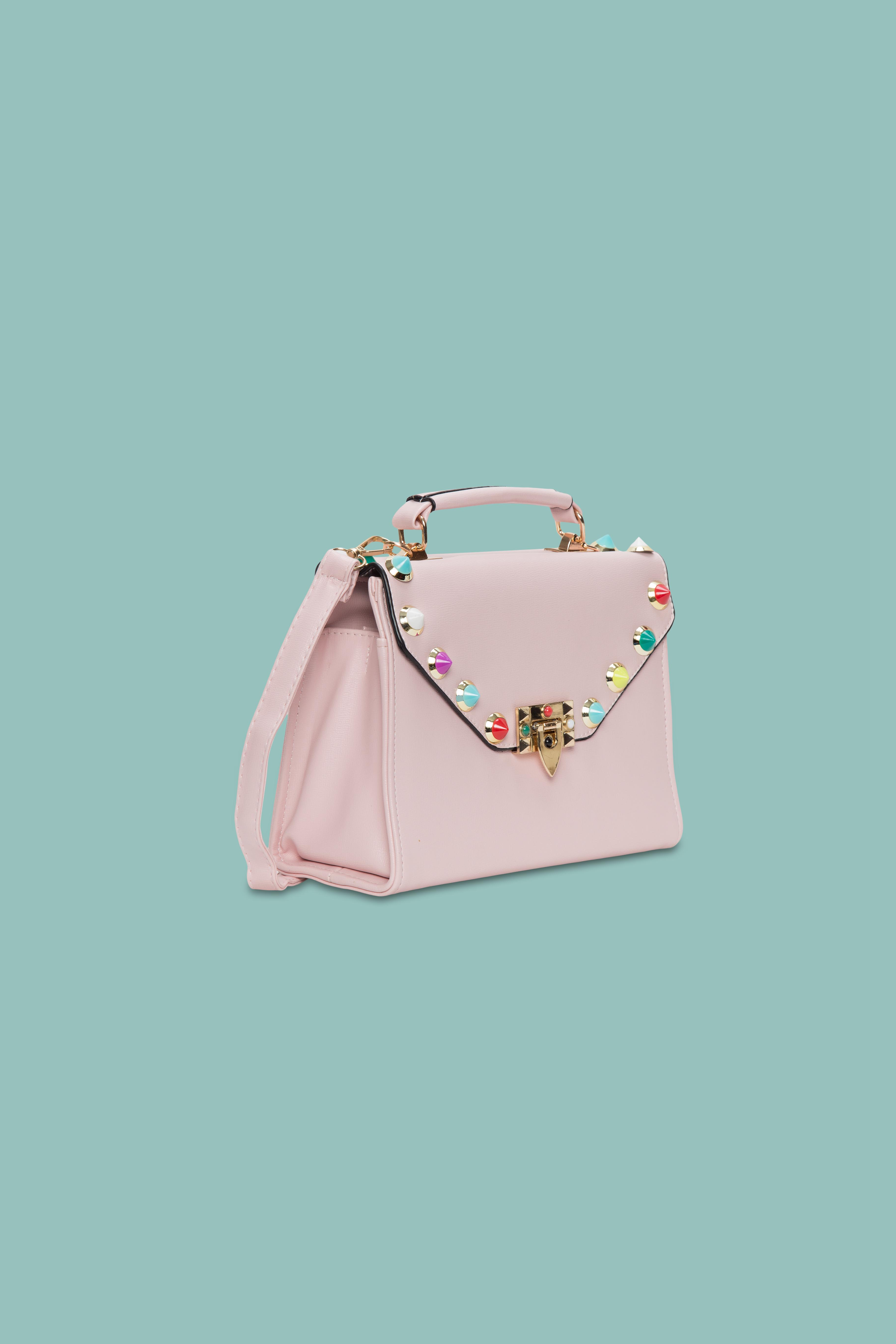Folle Pink Studs Party Bag