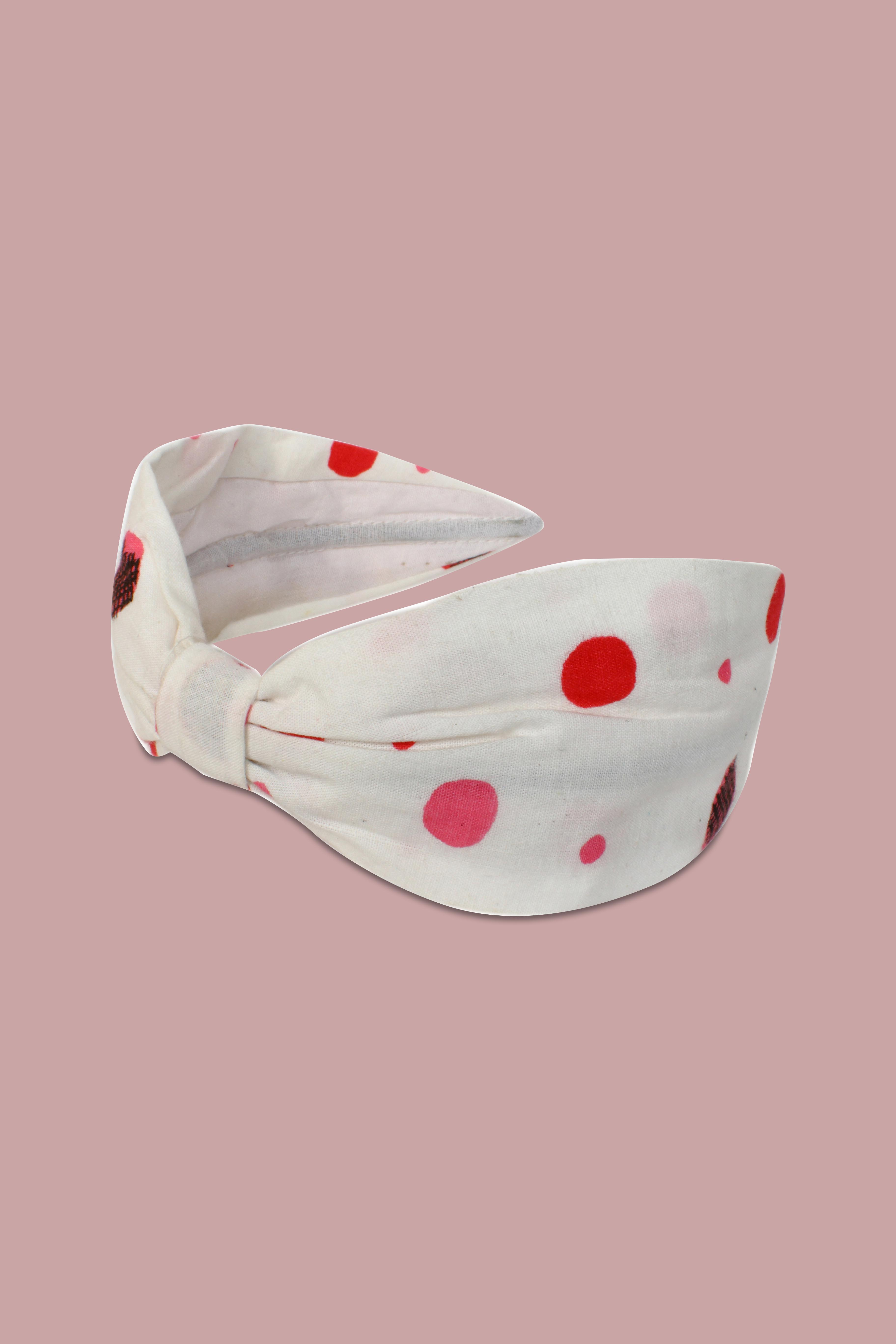 Folle Baby Look Printed Cotton Stunner Hairband